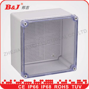 Plastic Electrical Enclosure Distributing Box/Plastic Electrical Box Cover pictures & photos