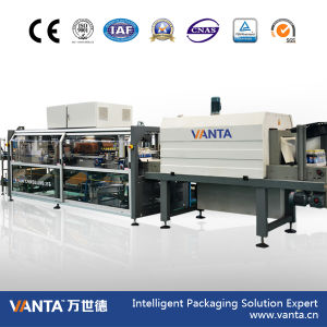 Lmb25p Automatic Film with Pad Wrapper Shrink Wrapping Machine