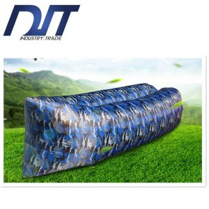 Camouflage Outdoor Lazy Inflatable Beach Air Bed with Customized