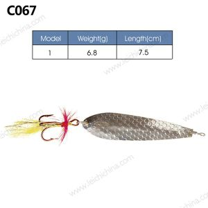 Popular High Quality Metal Fishing Spoon Lure pictures & photos