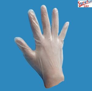 Vinyl Gloves for Examination Powder (2014SFVG017) pictures & photos