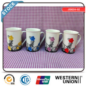 Good Quality Customized Design White Porcelain Mugs