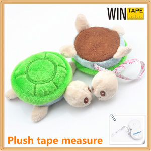 Turtle Shape Plush Pendants with Tape Measure (RT-017) pictures & photos