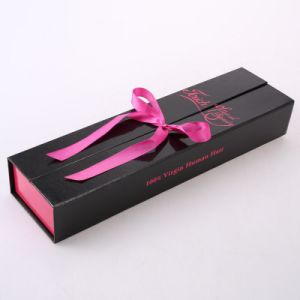Hair Extension Packaging Box with Custom Printing