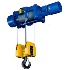 Electric Wire Rope Hoist Chain Block Hoisting Equipment Crane