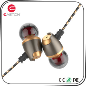 Mobile Phone Accessories Wired Stereo Metal Earphone