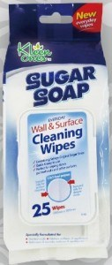 Sugar Soap Wall & Surface Cleaning Wipes 25pk
