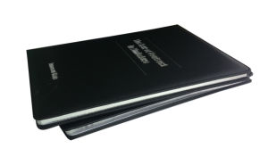 Silver Edges PU Leather Cover Book (YY-B0307) pictures & photos