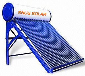 Evacuated Tube Compact Unpressurized Solar Hot Water Geyser pictures & photos