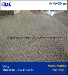 Aluminum/Copper/Stainless Steel Knitted Wire Mesh pictures & photos