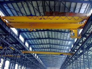 Doulbe Girder Overhead Crane with Electric Wire Rope Hoist (LZH) pictures & photos