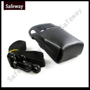 Two Way Radio Pouch Carry Leather Case for Dp3400 pictures & photos