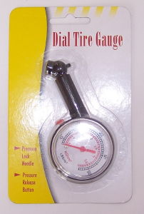 Press Release Function Dial Car Tire Gauge
