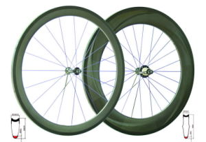 Tubular Road Wheels (WB-TWH-002B-3K-SH)