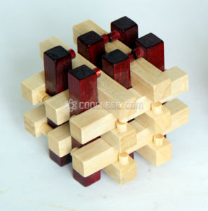 Wooden Interlocking Puzzle (WP1807A)