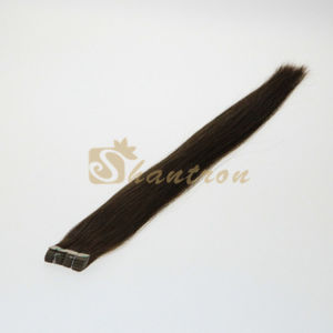 5A Wave Edge Adhesive Skin Weft 100% Virgin Extension Chinese Human Hair