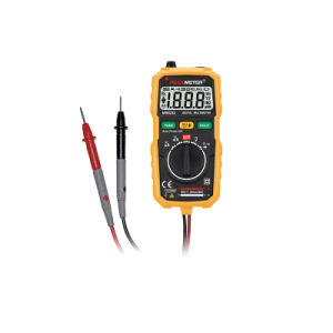 2000 Counts Mini Digital Multimeter with Ncv and Work Light Digital Multimeter