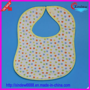 Printed Cotton Baby′s Bib pictures & photos