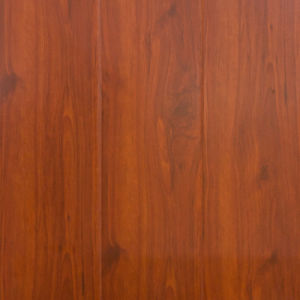 U Groove Mould Pressed Laminate Flooring High Glossy Surface H1308 pictures & photos