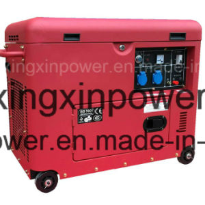 Portable Small Power 5kw Diesel Generator Set with CE pictures & photos