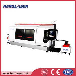 China′s Newest Design Automatic 500W Stainless Steel Pipe Laser Cutting Machine pictures & photos