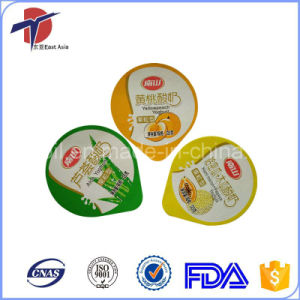 Heat Seal Peelable Aluminum Foil Lids pictures & photos