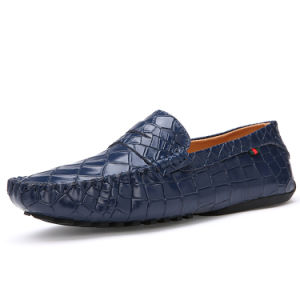 Leather Shoes Fashion Classic Leather Loafer Shoe for Men (AK1589) pictures & photos