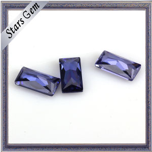 Wuzhou Factory Price for Rectangle Shape CZ Stone pictures & photos