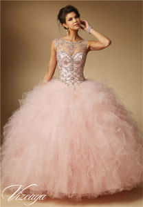 Quinceanera Prom Dress Heavy Beading Party Fashion Dress