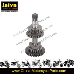 Motorcycle Parts Motorcycle Main Shaft for Ax-100 pictures & photos