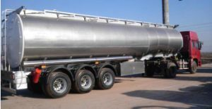 42 Cbm Air Suspension Aluminium Oil Tank Semi Trailer pictures & photos