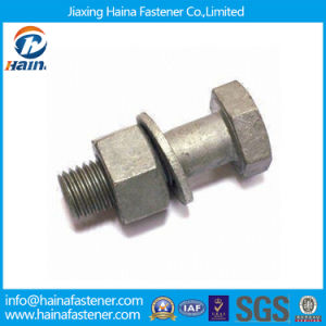 Heavy Hex Structural Bolt with Nut and Washer DIN6914 pictures & photos