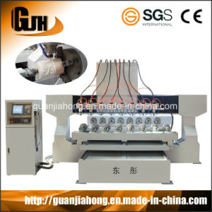 3D 4axis, 8 Spindle Stone CNC Router pictures & photos