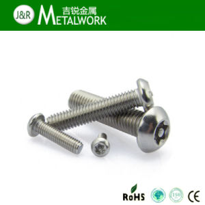 Stainless Steel Torx Pan / Button / Countersunk Head Security Screw with Center Pin pictures & photos