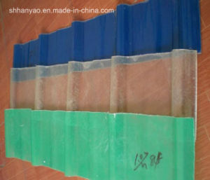 Shanghai Supplier Translucent PVC Tile Roofing with Cost Price pictures & photos