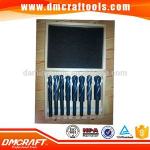 8PCS Reduced HSS Drill Bit Set in Wooden Box pictures & photos
