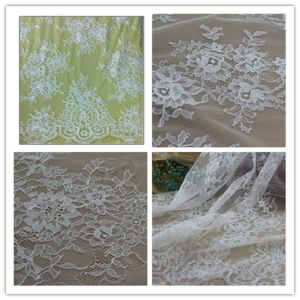 Fashion-Design Stretch Lace Fabric for Wedding Dress