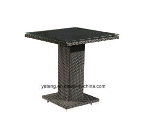 Outdoor Furniture Cheap Wicker Stackable Chairs by One Leg Table (YTA182&YTD836) pictures & photos