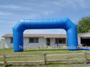 Outdoors Promotional Inflatable Arch Entrance with Free Logos