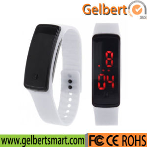 Gelbert New Product Silicone Band Digital LED Watch