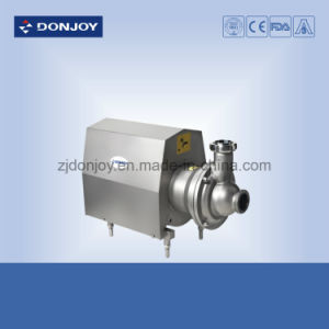 Ss 304 Sanitary Self Priming Pump Sic/C/EPDM with Clamp Connection pictures & photos