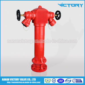Pillar Fire Hydrant, 2 Ways Fire Hydrant, Wet Type Fire Hydrant