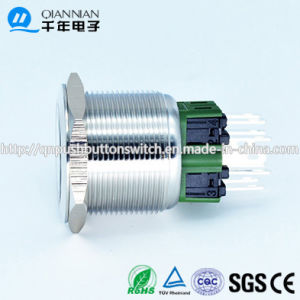 Qn25-A1 25mm Ring Type Momentary|Latching Flat Head Push Button Switch pictures & photos