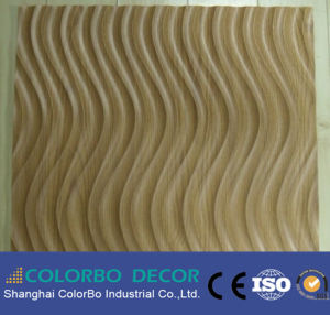 Eco-Friendly Fireproof Board Interior Wave Decorative Wall Panel pictures & photos
