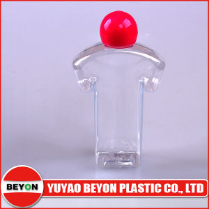 60ml Clothes Shaped Plastic Bottle with Ball Shape Screw Cap