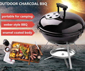 Outdoor Weber Portable Camping Mini Charcoal Kettle BBQ Grill pictures & photos