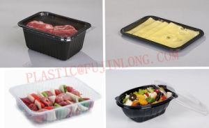Plastic Lunch Plate /Tray/Box /Container Thermoforming Machine pictures & photos