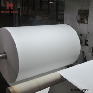 3500m Length 45GSM, 50, 60, 70, 80g, 90g, 100GSM High Speed Printing Fast Dry Sublimation Transfer Paper Jumbo Roll for Sublimation Textile Printer Ms Jp, Reggi