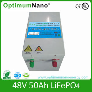 Customized 48V 50ah LiFePO4 Battery 5kw Hybrid Solar Wind System pictures & photos