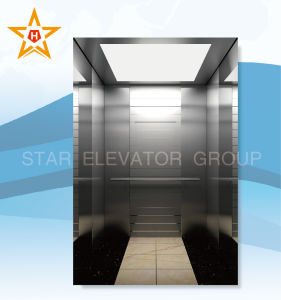Elevator Lift with Mirror Ecthing Stainless Steel Finish Xr-43